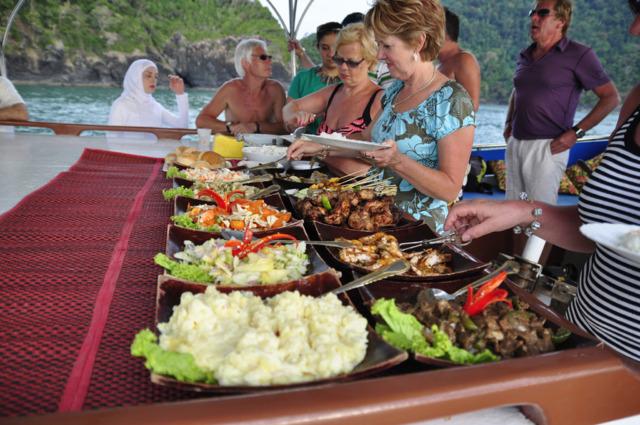Langkawi Yacht Charter Buffet